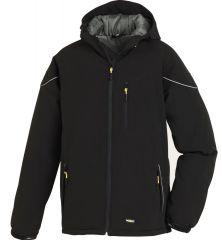 Winter-Softshell Jacken schwarz