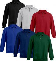 Promodoro Mens Troyer Sweater 100% Baumwolle