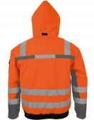 Orange Winter-Warnschutz-Pilotenjacke PKA