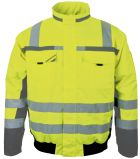 Gelbe Winter-Warnschutz-Pilotenjacke PKA