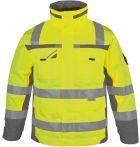 Winter-Warnschutz-Parka 3 in 1 gelb PKA