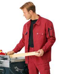 Arbeitsjacke rot