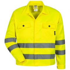 Warnschutzjacke gelb