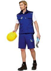 PKA Arbeitsweste Bestwork kornblau