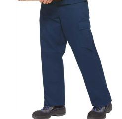 PKA Arbeitsbundhose hydronblau Basic Plus