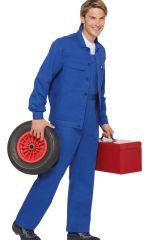 PKA Arbeitslatzhose kornblau Basic Plus