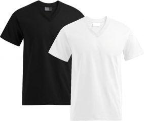 Promodoro Basic Neck T-Shirt V-Ausschnitt