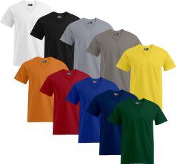 Promodoro Premium T-Shirt V-Ausschnitt