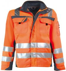 Warnschutz-Blousonjacke orange