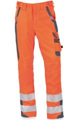Warnschutz-Bundhose orange