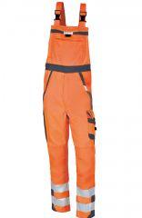 PKA Warnschutz-Latzhose orange