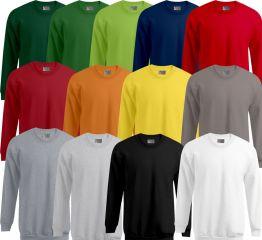 Promodoro Sweatshirt 100% Baumwolle