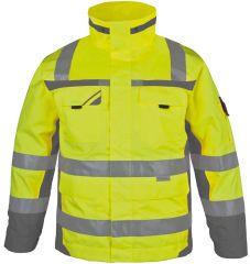 PKA Warnschutz-Winter-Parka gelb