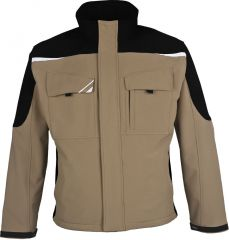 PKA  Winter-Softshelljacke Bestwork kahki