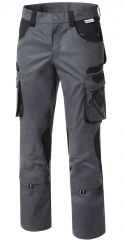 Damen Arbeitsbundhose grau/schwarz PIONIER TOOLS