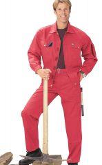 Arbeitsbundhose rot