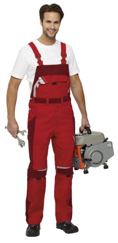Für Original auswählen authentisch Top Marken Rote Latzhose PKA Bestwork