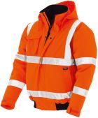 Warnschutz-Pilotenjacken gelb orange