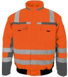 Orange Winter-Warnschutz-Pilotenjacke PKA