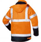 Warnschutzparka orange