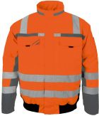 Orange Winter-Warnschutz-Pilotenjacke 3 in1 PKA