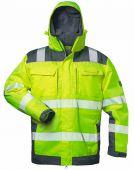 Warnschutzjacke 2in1 Elysee gelb/grau
