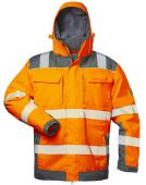 Warnschutzjacke 2in1 Elysee orange/grau