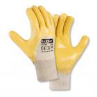 Nitrilhandschuhe gelb B2356